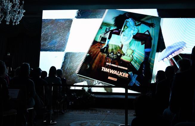 La presentazione del nuovo Calendario Pirelli a New York