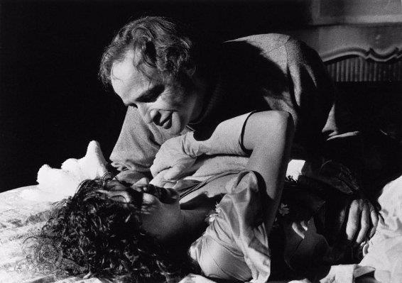 Marlon Brando e Maria Schneider nella scena strong di burro e anall