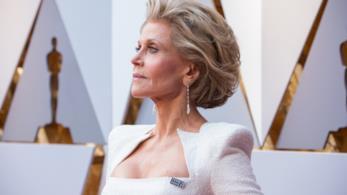 Jane Fonda sul red carpet degli Oscar 2018
