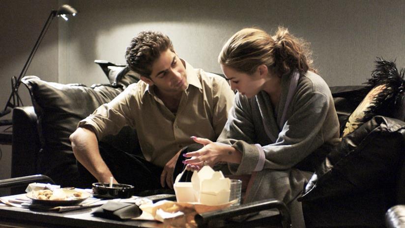 Adriana e Christopher parlano nell'episodio in cui la donna verrà uccisa