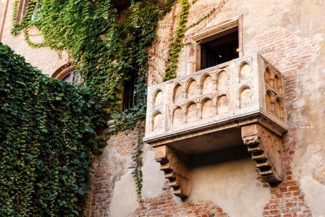 Verona, balcone della Casa di Giulietta