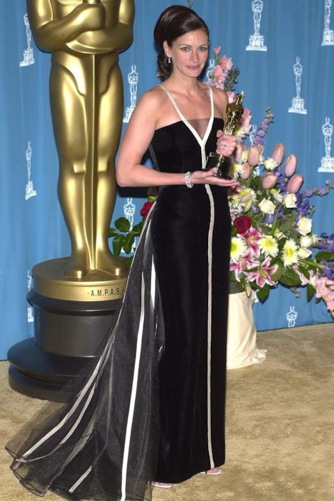 Julia Roberts sul red carpet degli Oscar