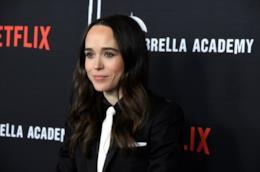 L'attrice Ellen Page