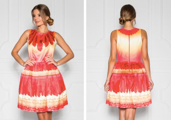 Sugarbird vestito corto ispirato a Vaiana