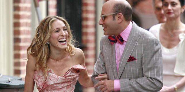 Sarah Jessica Parker con Willie Garson