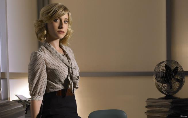 L'attrice Allison Smack