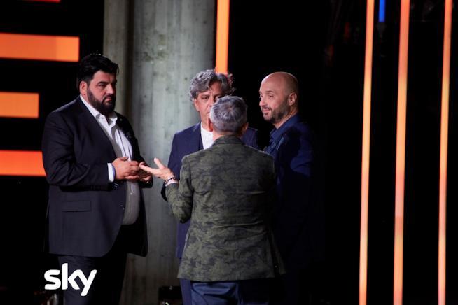 Bruno Barbieri, Joe Bastianich, Antonino Cannavacciuolo e Giorgio Locatelli