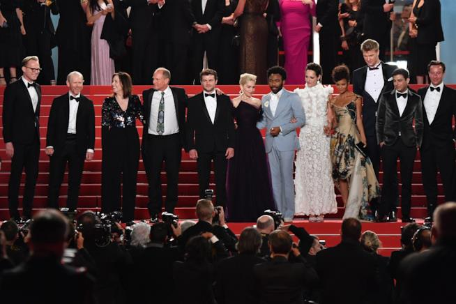 Il cast di Solo:A Star Wars Story al festival di  Cannes