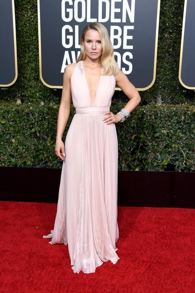 Kristen Bell ai Golden Globes