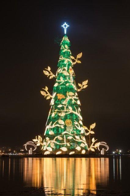 Albero natalizio di Rio de Janeiro