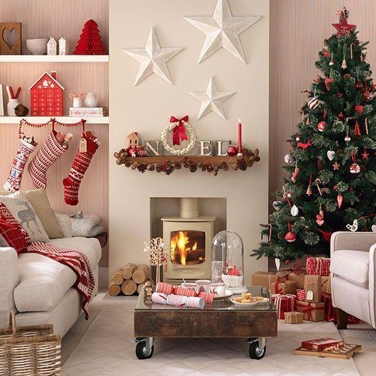 Salotto natalizio