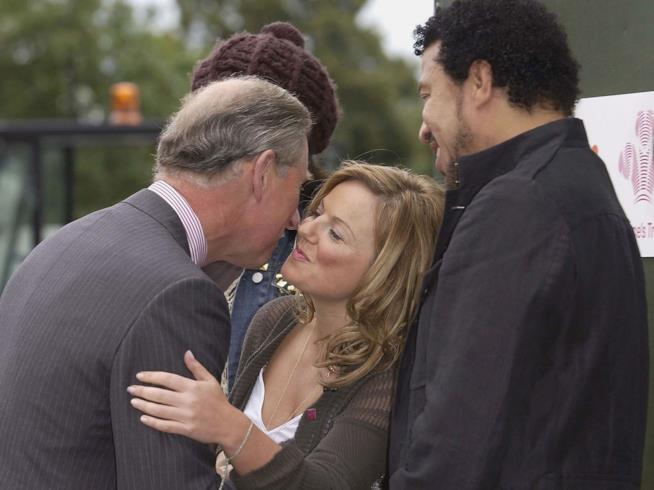 Geri Halliwell con il Principe Carlo