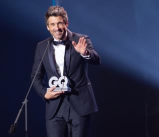 """Patrick Dempsey premiato """"uomo dell'anno"""" da GQ Germany"""