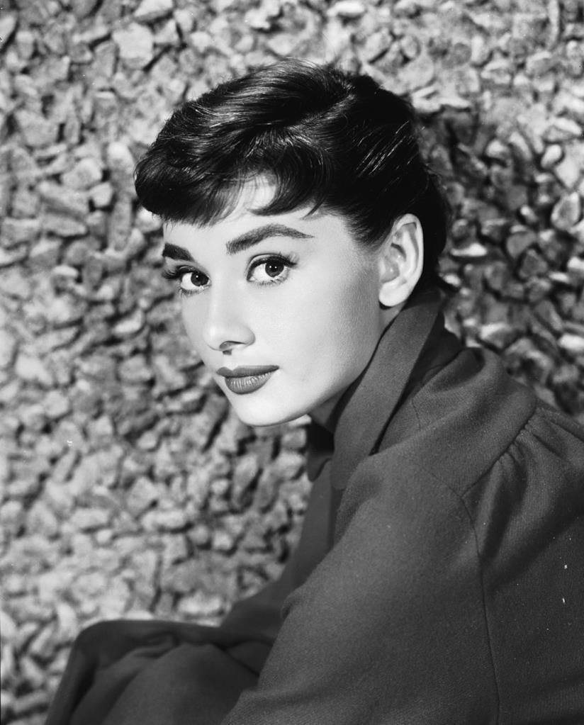 Primo piano di Audrey Hepburn