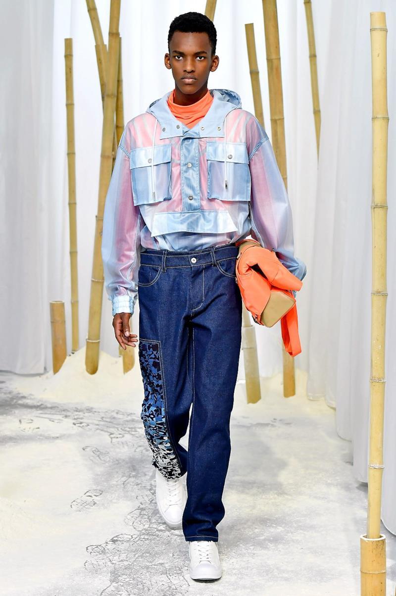 Sfilata FENG CHEN WANG Collezione Uomo Primavera Estate 2020 Londra - CSC_2531