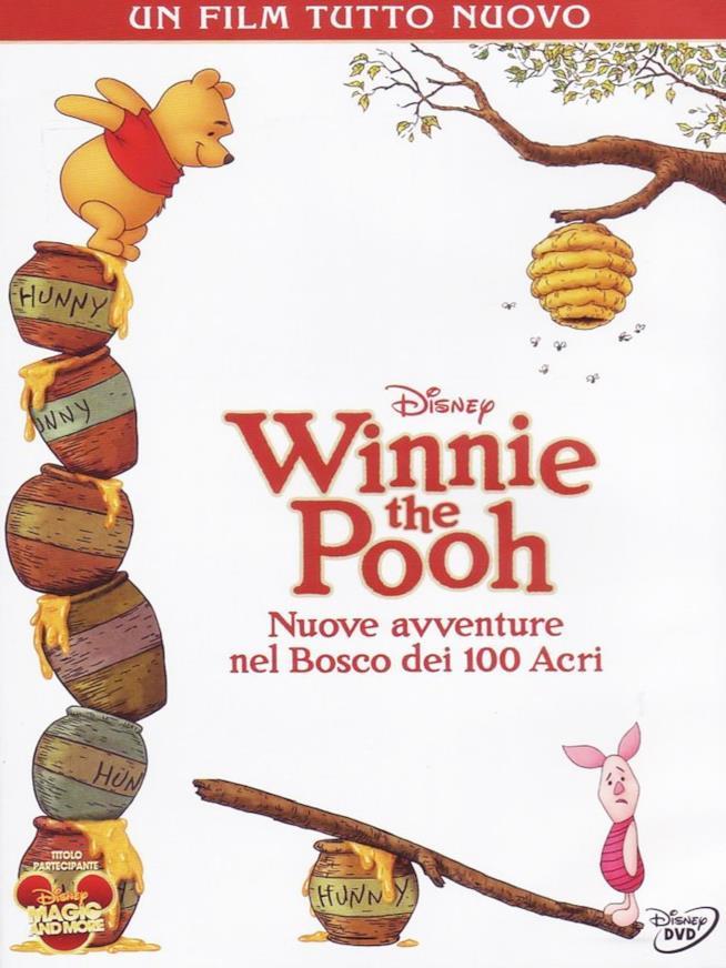 Il DVD Winnie the Pooh - Nuove avventure nel bosco dei 100 acri