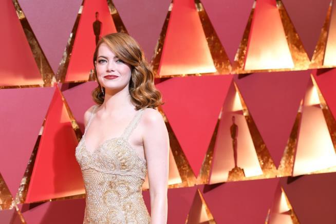Emma Stone alla cerimonia degli Oscar
