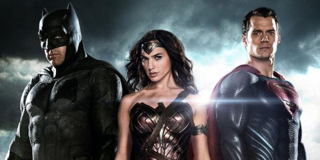 I protagonisti di Batman V Superman: Ben Affleck, Gal Gadot e Henry Cavill
