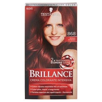 Crema colorante rosso intenso
