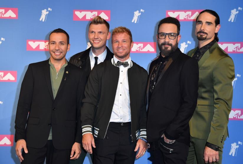 I Backstreet Boys ai 2018 MTV VMA