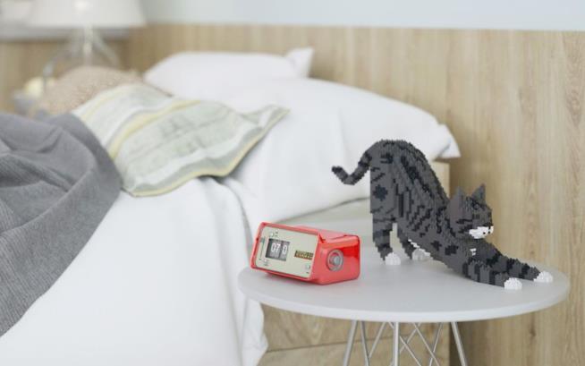 Piccola scultura di un gatto