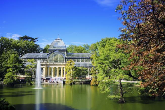 I Giardini più belli d'Europa, Parco del Retiro, Madrid, Spagna
