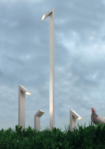 Lampada a stelo Chilone
