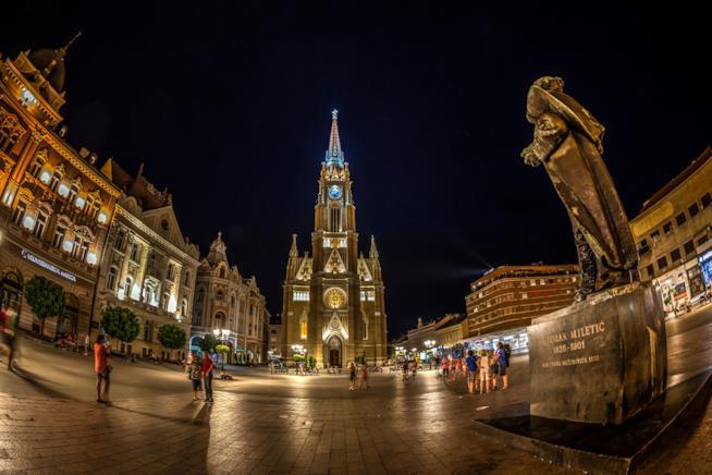 Piazza della Libertà di Novi Sad