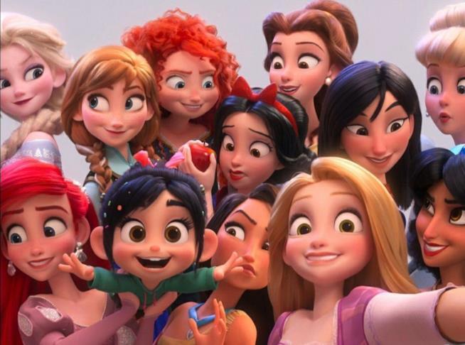 Le Principesse Disney in Ralph Spaccatutto