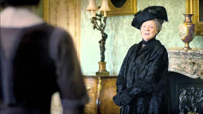 Maggie Smith attrice in Pranzo Reale
