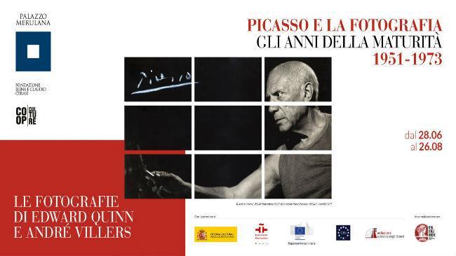 Locandina Picasso e la fotografia