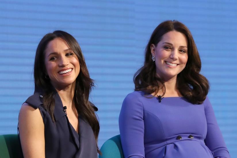 Kate Middleton e Meghan Markle insieme