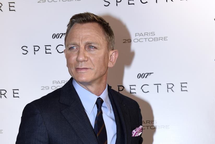 Daniel Craig alla premiere di Spectre