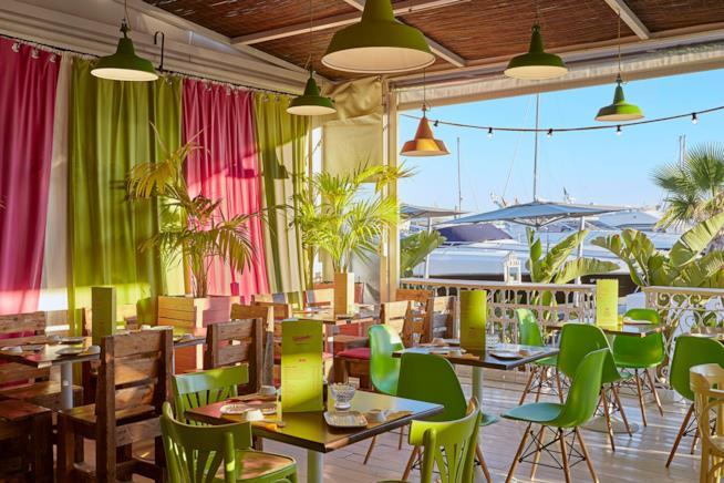 Il ristorante Temakinho di Ibiza