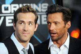 Gli attori Hugh Jackman e Ryan Reynolds