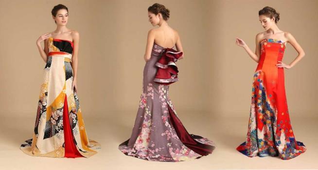 Da Ridisegnati Reinventati Sposa Come Abiti Kimono E PkZTwiXOu