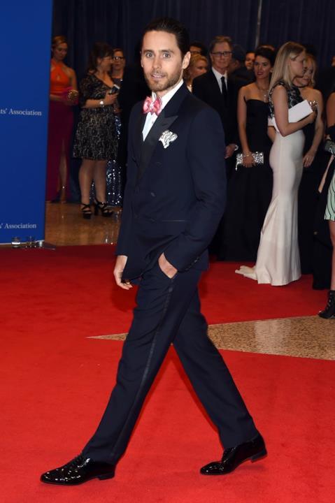 L'attore e cantautore Jared Leto