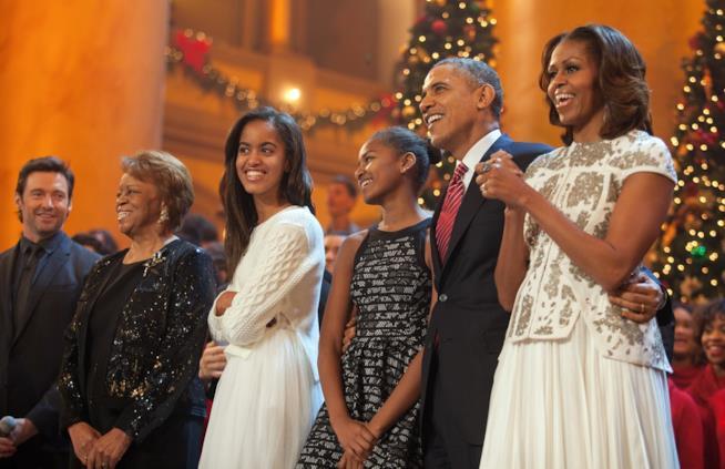 La famiglia Obama al completo!