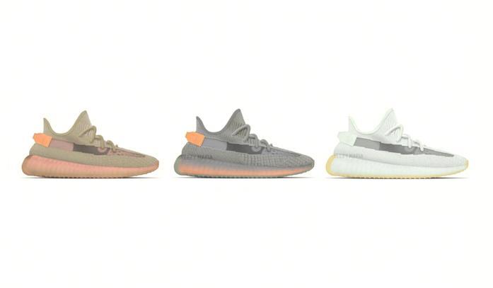 Adidas Yeezy Boost i tre modelli