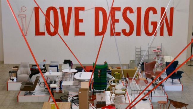 Interno di Love Design alla Fabbrica del Vapore