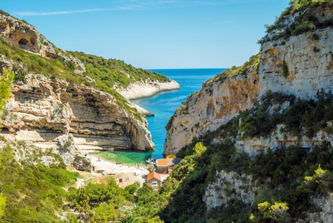 Croazia: isola di Vis