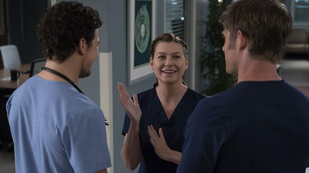 Meredith parla con Link e DeLuca