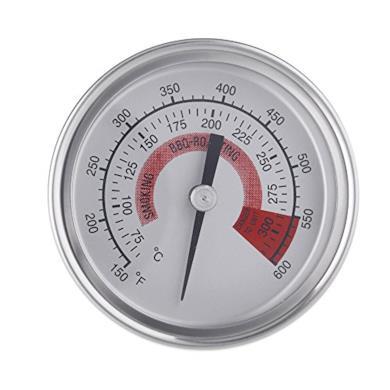 Smoker Pit Grill Termometro