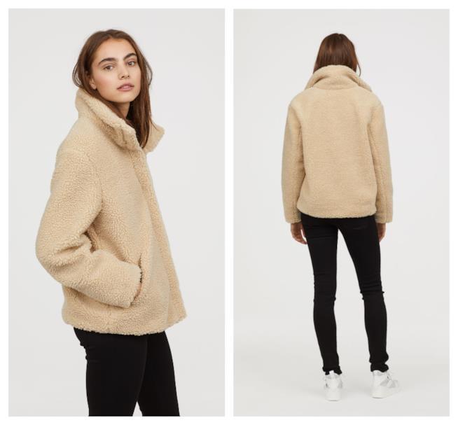 Giacca corta di moda per l'autunno 2018