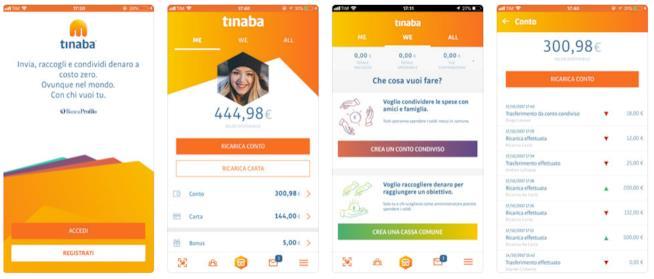 L'app Tinaba
