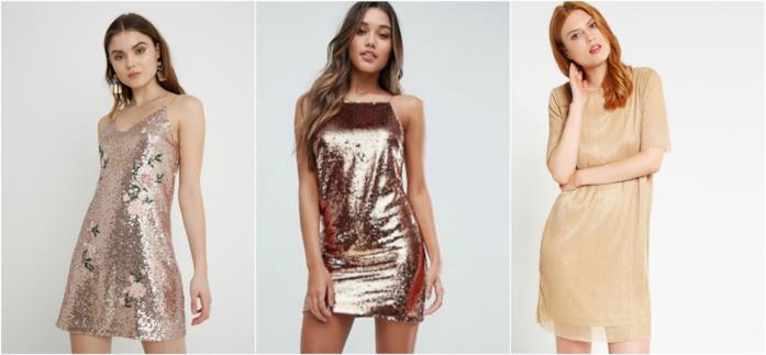 buy online d78ed 08379 Abiti oro: vestiti dorati come quello di Gwyneth Paltrow per ...