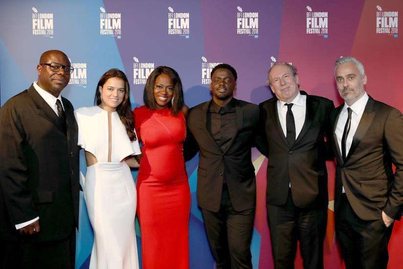 La premiere di Widows - Eredità criminale al London Film Festival