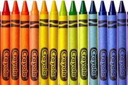 I pastelli Crayola