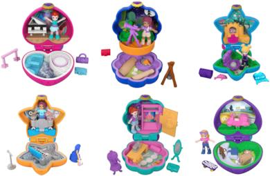 Polly Pocket playset Posticini tascabili