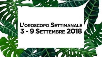L'oroscopo della settimana, 3 - 9 Settembre